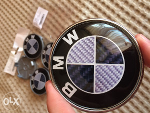 ZNAK za BMW - CARBON - crno / carbon