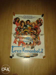 Filmski plakat ,, TRKA KENONBOL 2 ,,