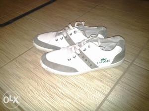 Prodajem Patike LACOSTA original 1 obuvene!!!