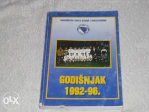 knjiga,,Godišnjak 92-96,,