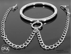 Seksualna-Erotska sexy pomagala Povez metalni BDSM