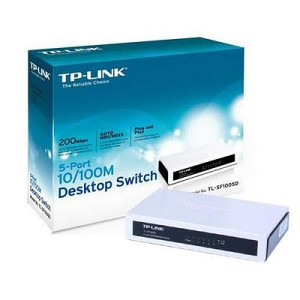 TP-LINK SWITCH 5-PORT 200Mbps