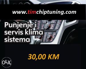 PUNJENJE (SERVIS) AUTO KLIMA / KLIME 30 KM SARAJEVO