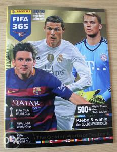 Panini FIFA 365 - prazan album - njemačko izdanje