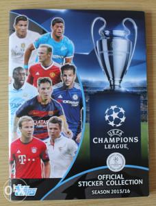 Topps Champions League 2015-16 album - kompletan
