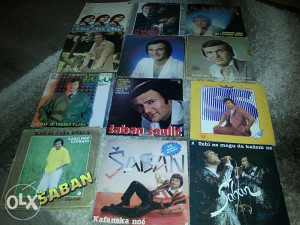 Gramofonske ploce saban saulic 12 albuma