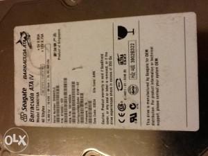 HDD, disk, Seagate Barracuda ATA IV 40 GB