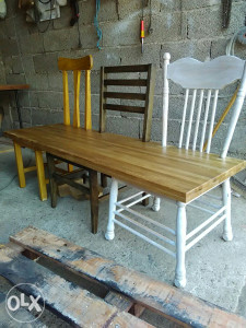 Klupa-tri stolice