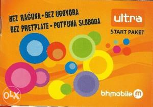 Odličan Ultra broj 062 660-123
