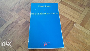Knjiga Bogumilske legende Zlatko Topcic