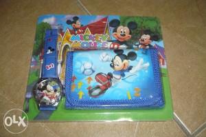 Sat i novčanik miki maus/miš mickey mouse