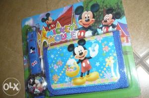 Sat i novčanik miki maus/miš 1 mickey mouse