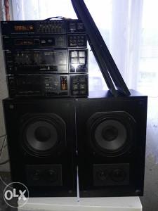 hi fi sistem zvucnici 8 om-a