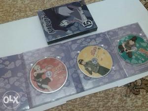 Naruto dvd kolekcijs uncut