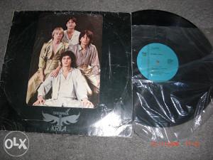 Gramofonska ploča LP srebrena krila