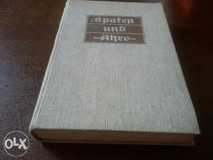 Orginalno Njemačko izdanje knjige Hitler i ratnici Verm