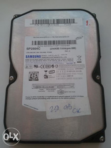 Hard disk / HDD 250 GB/7200rpm/8M, SATA, Samsung