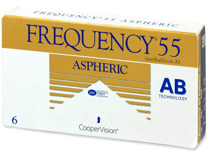Frequency 55 Aspheric kontaktne leće (6 sočiva)