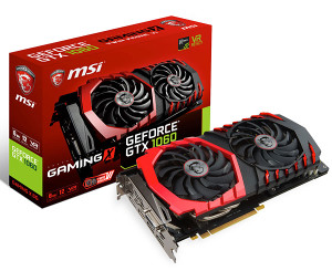 MSI GTX 1060 GAMING X 6G GTX1060 6GB GDDR5 PCIE