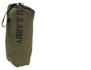 Vreća vojna ,US Duffel Bag,OD green,with carrying strap