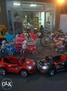 Sniženje! Autići, auta na baterije, razne igračke