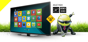 "Vivax 40"" LED ANDROID WiFi Smart TV 40LE74SM 40LE77SM"