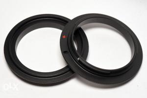 58 mm makro reverse adapter za Canon