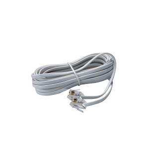 Telefonski kabel sa RJ-11 konektorima 7.5m (3887)