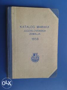 Knjiga ,, KATALOG POŠTANSKIH MARAKA  ,,