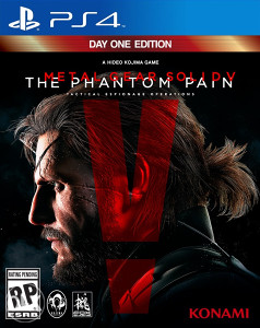 METAL GEAR SOLID PHANTOM PAIN PS4. DIGITLNA IGRA