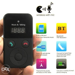 Bluetooth MP3 za auto modulator, transmiter