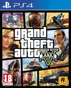 GRAND THEFT AUTO V PS4 + GRATIS TOP IGRE