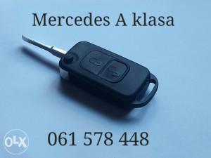 Kljuc Mercedes A klasa oklop kljuca za