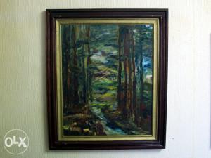 Umjetnička slika Jesen u Šumi