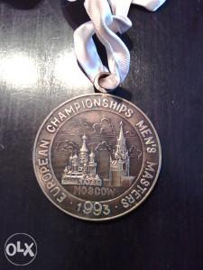 Bronzana medalja evropski prvenstvo
