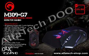Gaming miš s podlogom MARVO M309 G7