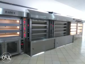 DADEX Parne pekarske peći(na drva)4,6,8,10m2...i oprema