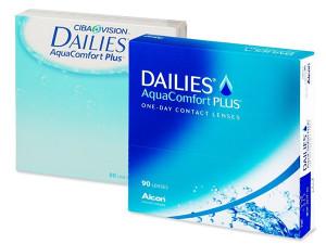 Dailies AquaComfort Plus (90 kom sočiva), dnevne leće
