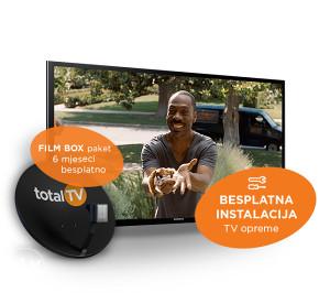 Total TV ,Tel: 062/703-036,Besplatan priključak