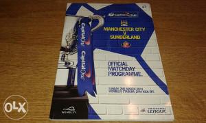 Program M.City ~ Sunderland Finale Liga kupa