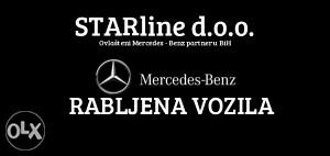 Mercedes Benz RABLJENA VOZILA