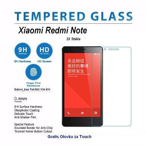 2X Xiaomi Redmi Note Zastitno Staklo