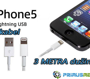 usb kabal 3 metra za iphone 5 5s 6 6s