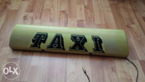 taxi znak firma