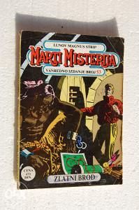 Marti Misterija - Zlatni brod (br. 53) LMS