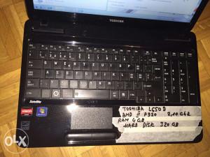 Toshiba  L650 D      amd  II   P320  2,10 ghz
