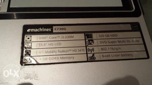 Emachines E730G dijelovi