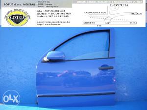 Škoda Fabia 00/07-prednja lijeva vrata (ostali dijelovi)