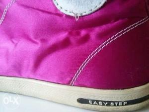 "Kozne patike pink duboke ""easy step"""