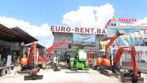 Mini bageri Sarajevo - EURO-RENT